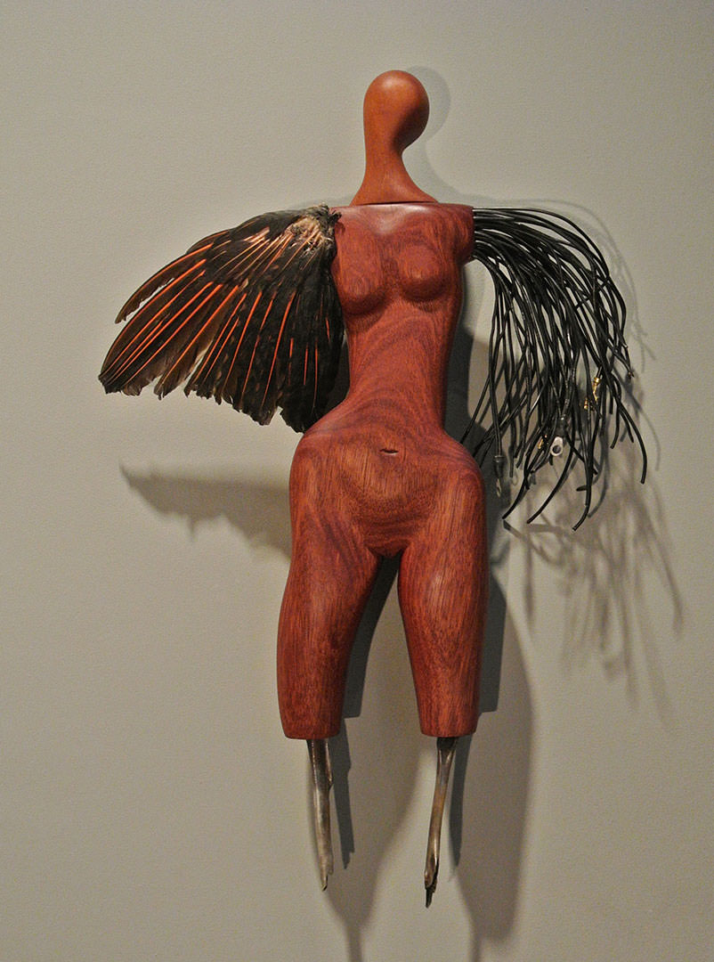 """flicker doll"" from Persimmon Blackbridge's Constructed Identities"