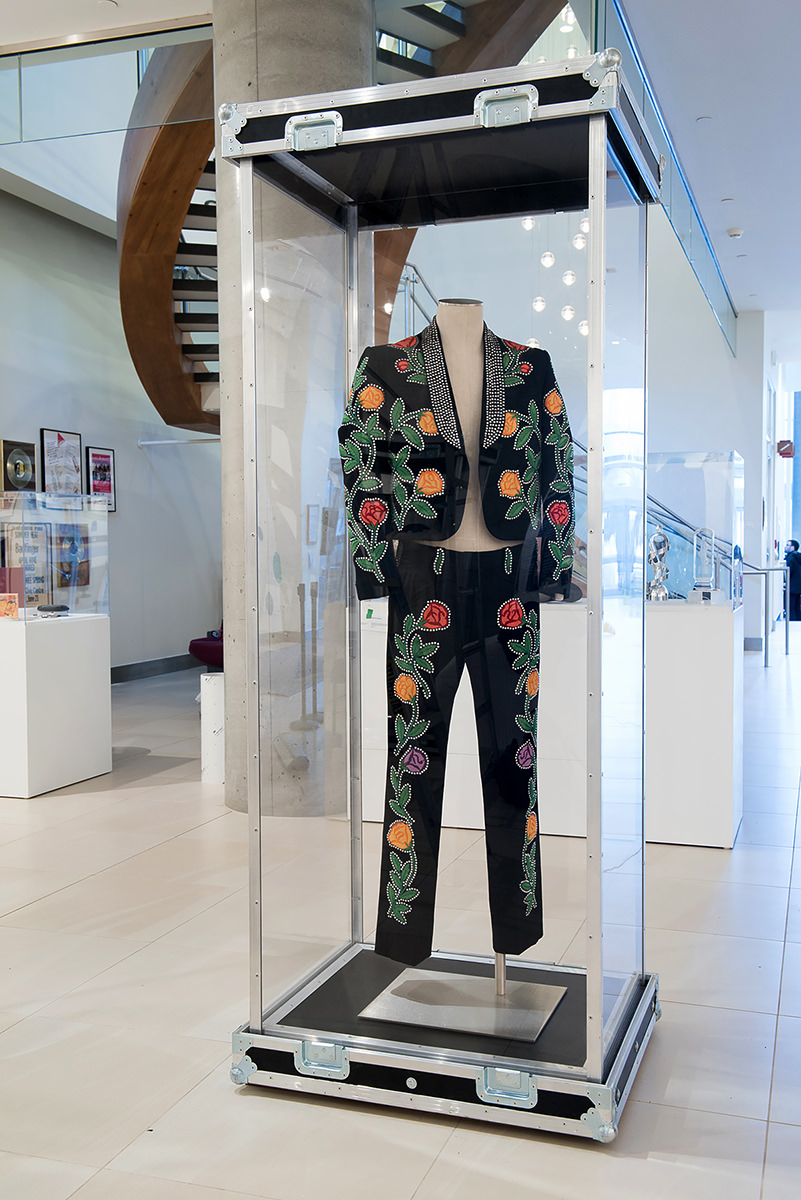 Nudie suit (pants and jacket) worn by Hank Snow,  Object ID: 1366,  National Music Centre