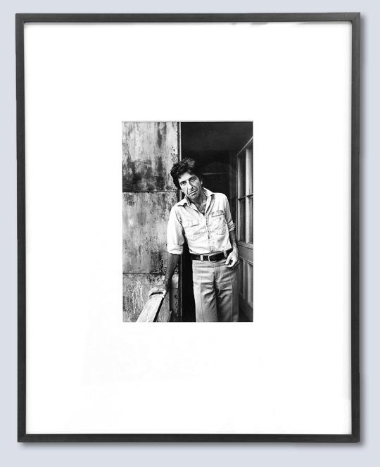 Leonard Cohen, Poet, Montreal, 1973