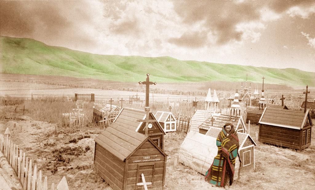 Hills Never Lie (2009) Mary Longman (1964 - ) Lenticular print Collection : Canada Council Art Bank