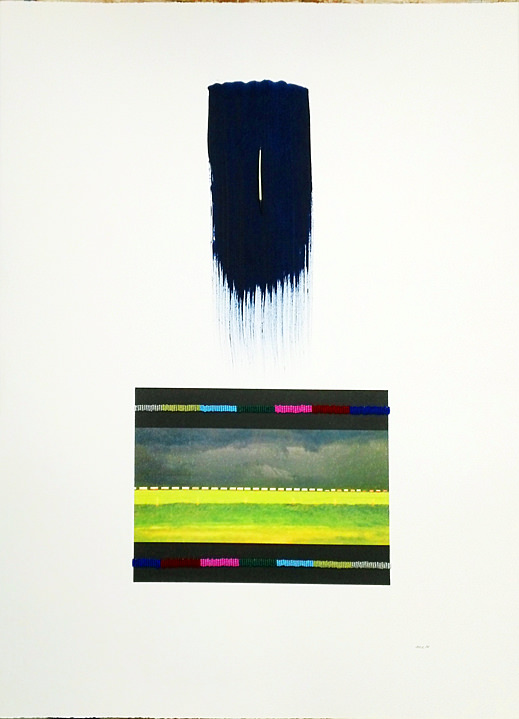 3 / 17 Parallel Roads (2014) Barry Ace (1958 - ) Mixed media on paper Collection: Aboriginal Affairs and Northern Development Canada