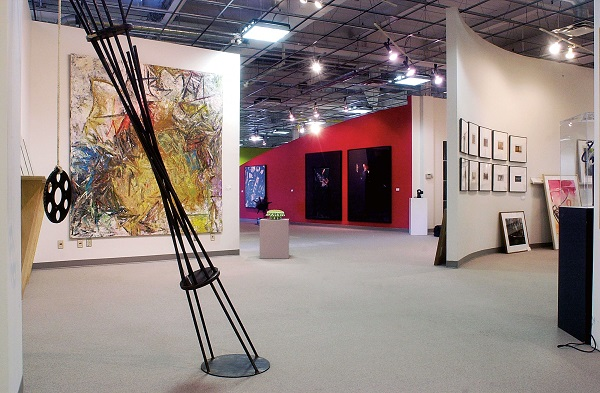 The Canada Council Art Bank interior