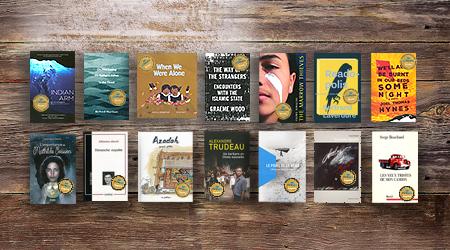 Winning Governor General Literary Awards books