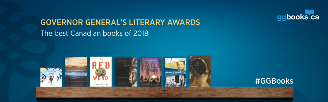 Book covers of the 2018 English winners