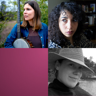 2019 Winners: Olivia Whetung (top left), Allison de Groot (top right), Rebecca Salazar (bottom right)