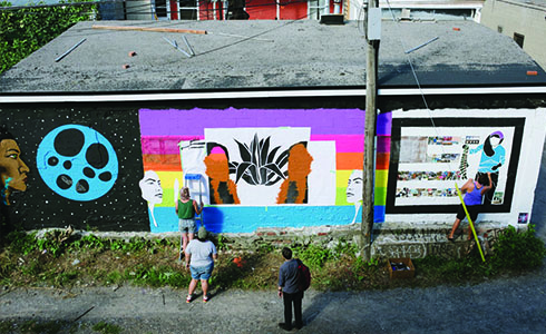 Unceded Voices : Anticolonial Street Artists Convergence