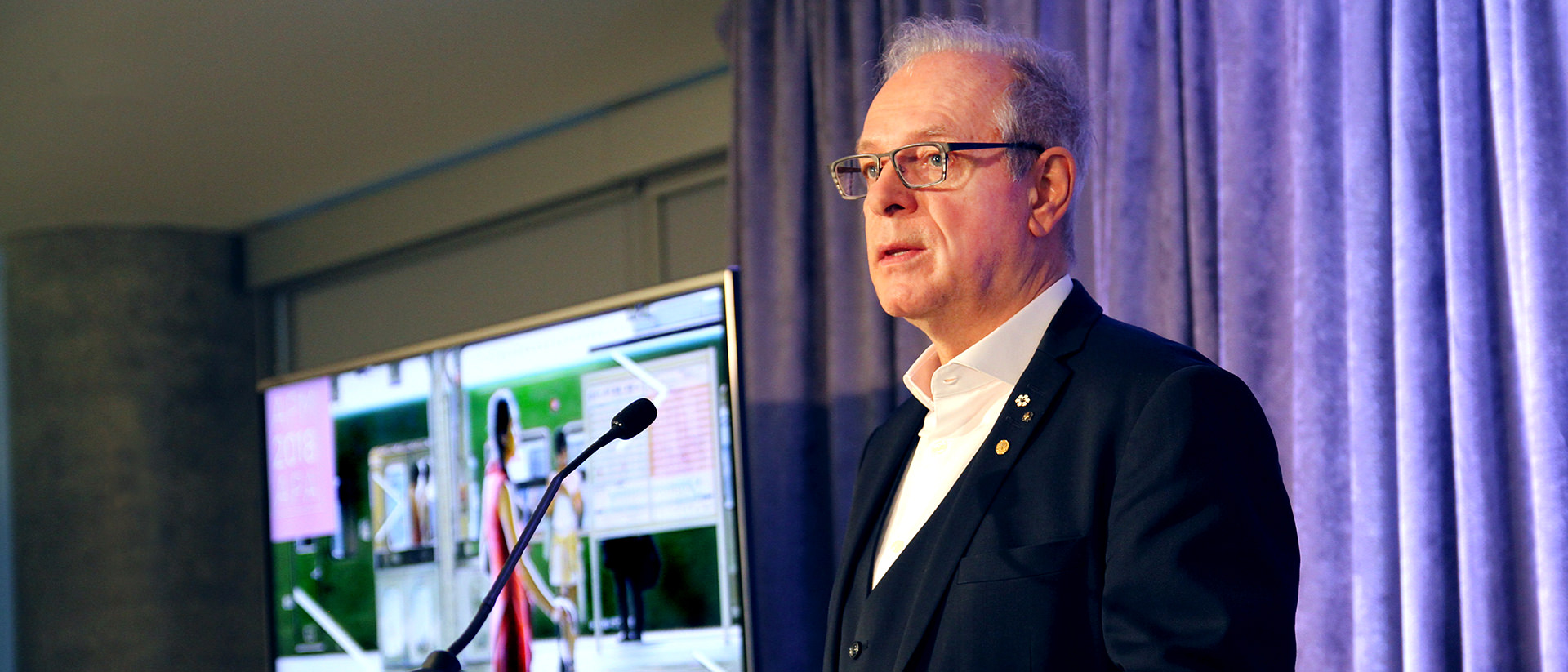 Simon Brault, Annual Public Meeting 2018